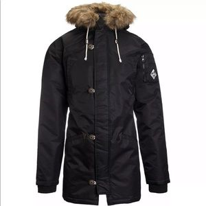Vans JT Hetch MTE Parka Faux Fur Hooded Jacket